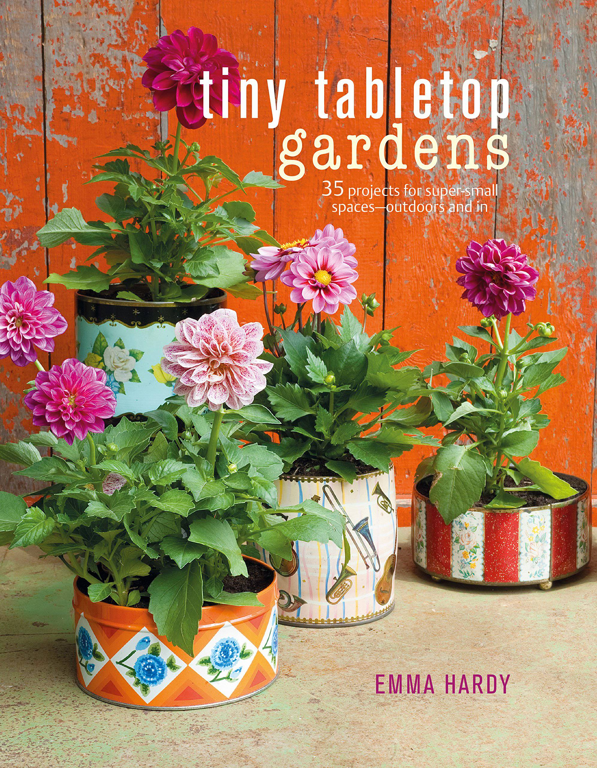 Tiny tabletop gardens by Emma Hardy